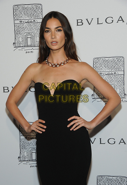 NEW YORK, NY - OCTOBER 19: Lily Aldridge attends the re-opening of the  Bulgari flagship store on Fifth Avenue in New York City on October 20, 2017. <br /> CAP/MPI/JP<br /> &copy;JP/MPI/Capital Pictures