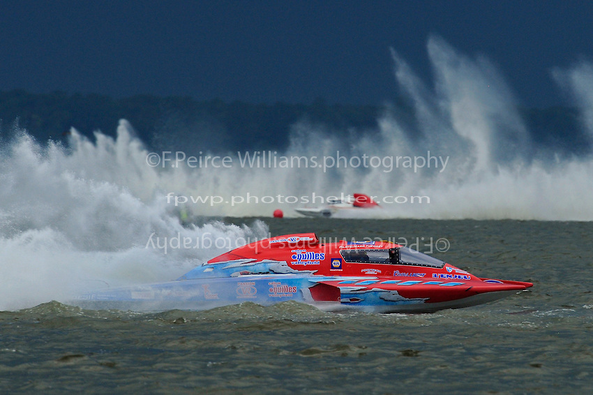 "Marc Theoret, GP-444 ""GP Valleyfield"" (Grand Prix Hydroplane(s)"