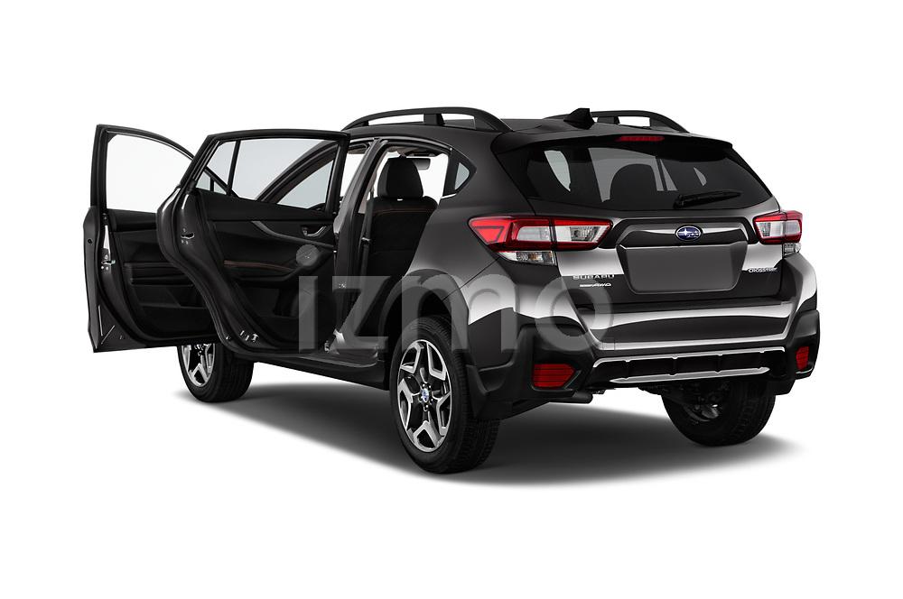 Car images close up view of a 2018 Subaru Crosstrek Limited CVT 5 Door SUV doors