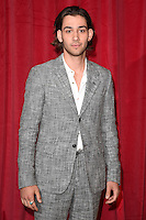 Maxim Baldry<br /> arrives for the British Soap Awards 2016 at Hackney Empire, London.<br /> <br /> <br /> &copy;Ash Knotek  D3124  28/05/2016