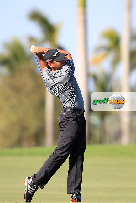 Jason Day (AUS) during the 2nd round at the WGC Cadillac Championship, Blue Monster, Trump National Doral, Doral, Florida, USA<br /> Picture: Fran Caffrey / Golffile