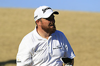 Shane Lowry (IRL) tees off the 7th tee during Saturday's Round 3 of the Waste Management Phoenix Open 2018 held on the TPC Scottsdale Stadium Course, Scottsdale, Arizona, USA. 3rd February 2018.<br /> Picture: Eoin Clarke | Golffile<br /> <br /> <br /> All photos usage must carry mandatory copyright credit (&copy; Golffile | Eoin Clarke)