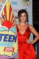 LOS ANGELES, CA, USA - AUGUST 10: Lucy Hale poses in the press room during the Teen Choice Awards 2014 held at The Shrine Auditorium on August 10, 2014 in Los Angeles, California, United States. (Photo by Celebrity Monitor)