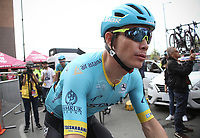 LA CEJA - COLOMBIA, 13-02-2019: Miguel Angel Lopez (COL), ASTANA Pro Team, durante la segunda etapa del Tour Colombia 2.1 2019 con un recorrido de 150.5 Km, que se corrió entre La Ceja Canadá - Carmen de Viboral - Rionegro - Canadá - La Ceja. / Miguel Angel Lopez (COL), ASTANA Pro Team, during the second stage of 150.5 km of Tour Colombia 2.1 2019 that ran through La Ceja Canada - Carmen de Viboral - Rionegro - Canada - La Ceja.  Photo: VizzorImage / Fedeciclismo Prensa