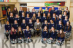 Presentation Secondary School, Tralee students, pictured with their German teacher Marion Cronin, on Friday morning last, as they won the 19th Irish Austrian Society Essay Competition for 3rd 4th and 5th years, this was won for the first time in school and the trophy is entitled the 'Catriona Dowling Perpetual Memorial Trophy'.