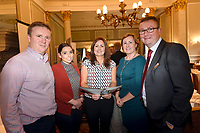 Pictured at an OCKT Chartered Accountants Budget Highlights Briefing in The Malton Hotel, Killarney on Wednesday were from left, Philip O'Callaghan, Mary Brosnan, Sarah treacy, OCKT, Siobhan Kissane and Hugh Gleeson.<br /> Photo: Don MacMonagle<br /> <br /> repro free photo