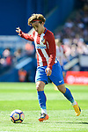 Atletico de Madrid's Antoine Griezmann during Liga Liga match between Atletico de Madrid and SD Eibar at Vicente Calderon Stadium in Madrid, May 06, 2017. Spain.<br /> (ALTERPHOTOS/BorjaB.Hojas)