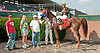Extra Cool winning at Delaware Park on 7/10/13