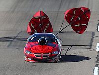 Feb 25, 2017; Chandler, AZ, USA; NHRA top sportsman driver Robert Cornine during qualifying for the Arizona Nationals at Wild Horse Pass Motorsports Park. Mandatory Credit: Mark J. Rebilas-USA TODAY Sports