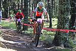 05.09.2015 La Massana Andorra. 201 UCI Mountain Bike World Champions.Picture show Neff Jolanda (SUI) in action during women ELite Cross-country Olympic World Champions