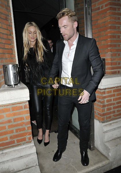 LONDON, ENGLAND - MARCH 04: Storm Uechtritz &amp; Ronan Keating attend George Michael's 6th studio album Symphonica launch party, Hamiltons Gallery, Carlos Place, on Tuesday March 04, 2014 in London, England, UK.<br /> CAP/CAN<br /> &copy;Can Nguyen/Capital Pictures