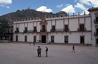 The Government Palace or Palacio de Gobierno in the city of Zacatecas, Mexico. The historic centre of Zacatecas is a UNESCO World Heritage site.