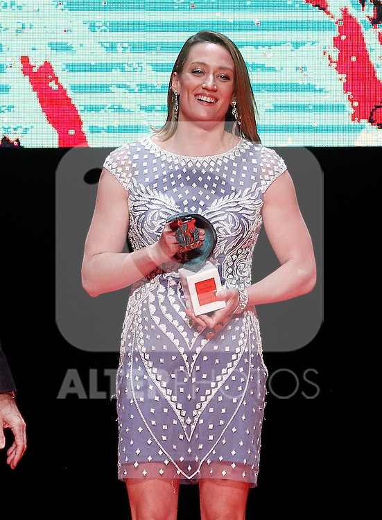 Spanish swimmer Mireia Belmonte during 37 Sport Gala - National Sports Awards 2017. March 6,2017. (ALTERPHOTOS/Acero)