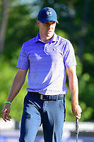 Jordan Spieth (USA) watches his putt on 10 during round 2 of the Shell Houston Open, Golf Club of Houston, Houston, Texas, USA. 3/31/2017.<br /> Picture: Golffile | Ken Murray<br /> <br /> <br /> All photo usage must carry mandatory copyright credit (&copy; Golffile | Ken Murray)