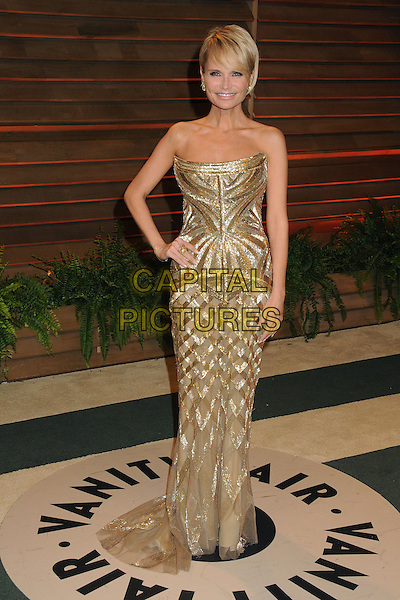 02 March 2014 - West Hollywood, California - Kristin Chenoweth. 2014 Vanity Fair Oscar Party following the 86th Academy Awards held at Sunset Plaza. <br /> CAP/ADM/BP<br /> &copy;Byron Purvis/AdMedia/Capital Pictures