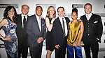 Annie Parisse, Frank Wood, Damon Gupton, Christina Kirk, Jeremy Shamos, Crystal A. Dickinson & Brendan Griffin.attending the Broadway Opening Night Performance After Party for 'Clybourne Park' at Gotham Hall in New York City on 4/19/2012