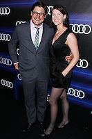 WEST HOLLYWOOD, CA, USA - AUGUST 21: Rich Sommer, Virginia Donohoe at the Audi Emmy Week Celebration 2014 held at Cecconi's Restaurant on August 21, 2014 in West Hollywood, California, United States. (Photo by Xavier Collin/Celebrity Monitor)