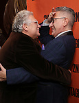 Harvey Fierstein and Moises Kaufman attends the Off-Broadway Opening Night After Party for the Second Stage Production on 'Torch Song' on October 19, 2017 at Copacabana in New York City.