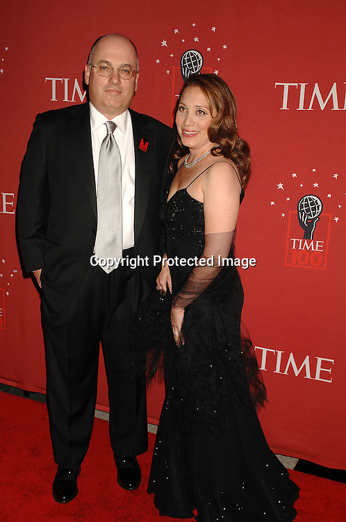Steven Cohen and wife Alexandra..arriving at The Time's 100 Most Influential People in the world on May 8, 2007 at Jazz at Lincoln Center atThe Time Warner Center in New York City. ..Robin Platzer, Twin Images......212-935-0770