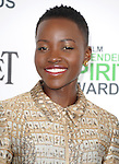 Lupita Nyong'o attends The 2014 Film Independent Spirit Awards held at Santa Monica Beach in Santa Monica, California on March 01,2014                                                                               © 2014 Hollywood Press Agency
