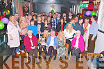 Kathleen Murphy, Dreenereigh, Glencar, pictured with her family and friends as she celebrated her 80th birthday in the Glencar House Hotel on Saturday night.