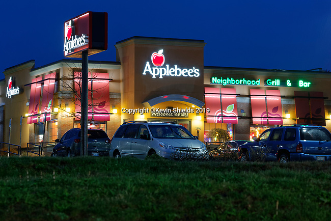 Applebees Restaurant in Thomaston, Maine, USA