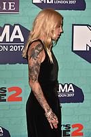 Skylar Grey<br /> MTV EMA Awards 2017 in Wembley, London, England on November 12, 2017<br /> CAP/PL<br /> &copy;Phil Loftus/Capital Pictures