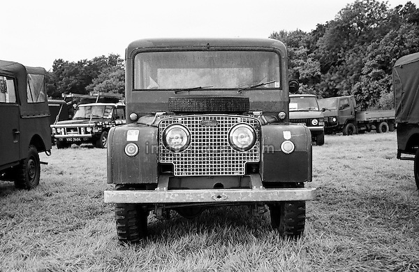 Original and unrestored 1949/50 Land Rover Series 1 80 inch Tickford Station Wagon, engine 1498cc petrol, registration HSL 605, chassis no. L06200409. Dunsfold Collection Open Day 1999. No releases available. Automotive trademarks are the property of the trademark holder, authorization may be needed for some uses. --- Info: This is one of the Tickford 80 inch Station Wagons built 1949/50. This vehicle was sent when new to UNICEF in Finland with one other for delivery of mothers milk in 1950. After 10 years it was fitted with a PTO and had a large air compressor installed in the rear and lived in a quarry blowing up truck tyres. This is most likely the most original unrestored example around.