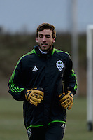 Toronto, ON, Canada - Thursday Dec. 08, 2016: Tyler Miller during training prior to MLS Cup at the Kia Training Grounds.