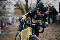 Quinten Hermans (BEL/Telenet Fidea Lions)<br /> <br /> Elite Men's Race<br /> Belgian National CX Championships / Koksijde 2018
