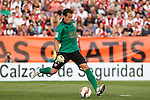 Rayo Vallecano´s goalkeeper Tono during La Liga match between Rayo Vallecano and Barcelona at Vallecas stadium in Madrid, Spain. October 04, 2014. (ALTERPHOTOS/Victor Blanco)