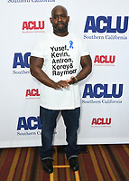 07 June 2019 - Hollywood, California - Antron McCray. ACLU 25th Annual Luncheon held at J.W. Marriott at LA Live. Photo Credit: Birdie Thompson/AdMedia