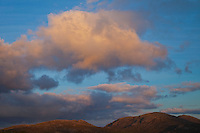 Atardecer en isla North Harris. Dusk in North Harris Island. Outer Hebrides. Scotland, UK