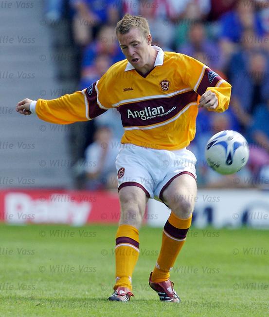David Clarkson, Motherwell.stock season 2006-2007.pic willie vass