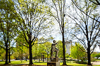 Photography of the Martin Luther King, Jr. Memorial Sculpture, in Marshall Park in  Charlotte, North Carolina.<br /> <br /> Charlotte Photographer -PatrickSchneiderPhoto.com