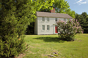 The Old eighteenth century Parsonage in the historical district of Newington, New Hampshire.