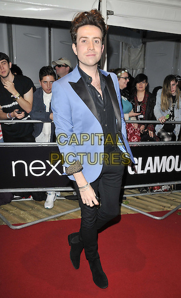 LONDON, ENGLAND - JUNE 03: Nick Grimshaw attends the Glamour Women Of The Year Awards 2014, Berkeley Square Gardens, Berkeley Square, on Tuesday June 03, 2014 in London, England, UK.<br /> CAP/CAN<br /> &copy;Can Nguyen/Capital Pictures