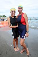 Triatlón Sports World Veracruz 2013- Ana Gabriela Sotelo y Ana Gabriela Ocejo. ©NortePhoto.com ..<br /> YahirCeballos/NortePhoto