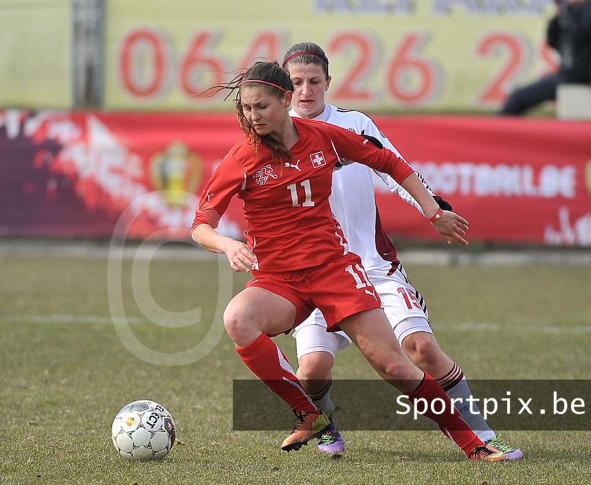Switzerland U19 - Russia U19 : Barla Deplazes.foto DAVID CATRY / Nikonpro.be