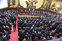 Discurso de rendici&oacute;n de cuentas del presidente Medina 2018<br /> Foto: &copy; Edgar Hern&aacute;ndez<br /> Fecha:27/02/2018