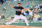 5 March 2010: Atlanta Braves' pitcher Todd Redmond on the mound during a Spring Training game against the Washington Nationals at Champion Stadium in the ESPN Wide World of Sports Complex in Orlando, Florida. The Braves defeated the Nationals 11-8 in Grapefruit League action. Mandatory Credit: Ed Wolfstein Photo