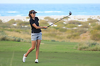 Meghan MacLaren (ENG) during the first round of the Fatima Bint Mubarak Ladies Open played at Saadiyat Beach Golf Club, Abu Dhabi, UAE. 10/01/2019<br /> Picture: Golffile | Phil Inglis<br /> <br /> All photo usage must carry mandatory copyright credit (© Golffile | Phil Inglis)