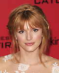 Bella Thorne arriving to 'The Hunger Game Catching Fire Premiere', Los Angeles, Ca. November 18, 2013.