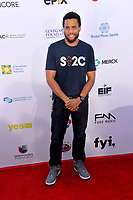SANTA MONICA, CA. September 07, 2018: Michael Ealy at the 2018 Stand Up To Cancer fundraiser at Barker Hangar, Santa Monica Airport.
