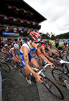 11 JUL 2009 - KITZBUHEL, AUT - Alessandro Fabian - ITU World Championship Series Mens Triathlon (PHOTO (C) NIGEL FARROW)