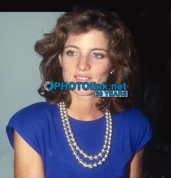 Caroline Kennedy 1982<br /> Photo By John Barrett/PHOTOlink.net