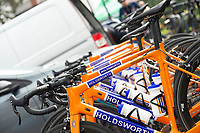 Picture by Allan McKenzie/SWpix.com - 15/04/18 - Cycling - HSBC UK British Cycling Spring Cup Road Series - Chorley Grand Prix 2018 - Chorley, England - Holdsworth, bike, branding.