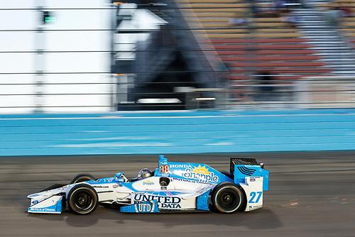 1-2 April, 2016, Avondale, Arizona USA<br /> 27 Marco Andretti<br /> ©2016, Sam Cobb<br /> LAT Photo USA