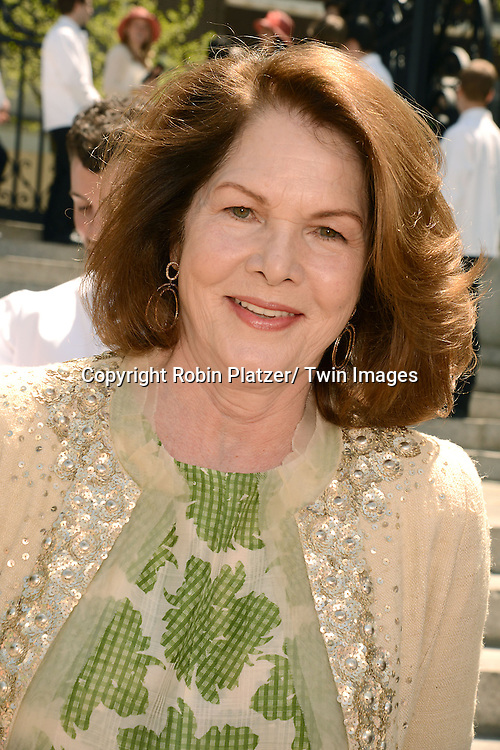 actress Lois Chiles attends the 32nd Annual Frederick Law Olmsted Awards Hat Luncheon given by The Central Park Conservancy on May 7,2014 in Central Park in New York City, NY USA.