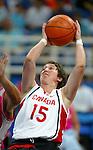 Equipe du Canada de basket en fauteuil roulant. Danielle Peers.<br /> (Benoit Pelosse photographe)
